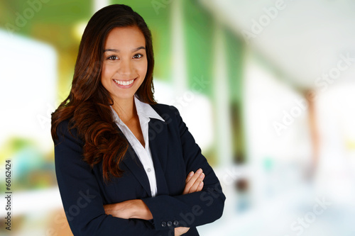 canvas print picture Businesswoman