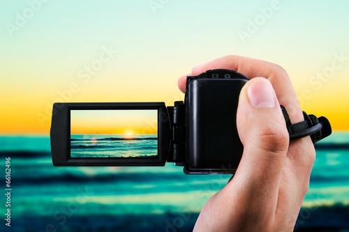Kamera wideo lub rejestracja kamery