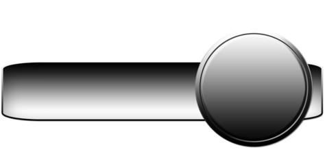 Bouton curseur gris