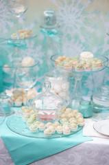 Stylish sweet table