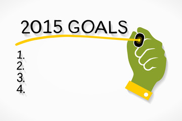 2015 new year resolution goals