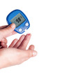 Diabetic blood test