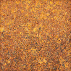 Oxidized metal surface making an abstract texture
