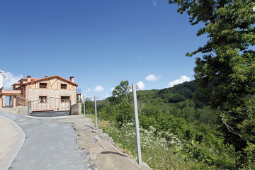Casa de La Garganta de Baños, Valle del Ambrioz, Cáceres, España