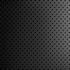 Black leather dot background