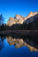 Cathedral Rocks Reflections in Yosemite