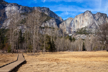 Yosemite Valley in Early Winter