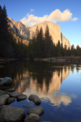El Capitan Reflections in Yosemite