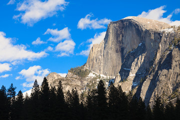Beautiful Half Dome in Yosemite