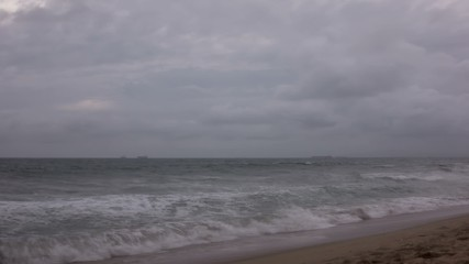 Pacific Storm Time Lapse