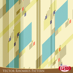 Vector Rhombus Pattern
