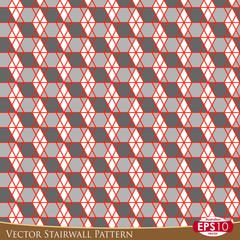 Vector Stairwall Pattern H