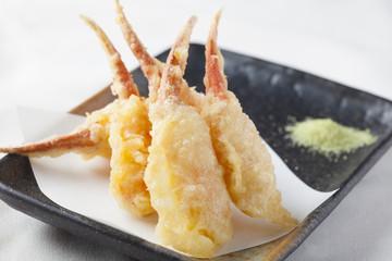 カニの爪の天ぷら