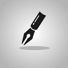 Vector pen icon