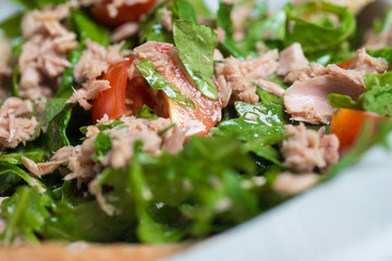 Tuna salad, healthy, simple and delicious