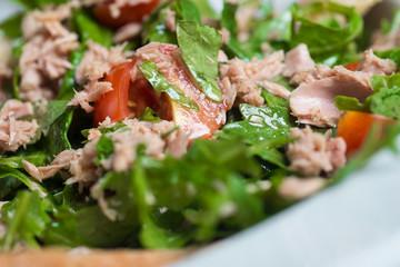 Tuna salad, healthy, simple and delicious