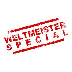 stempel eckig weltmeister special I