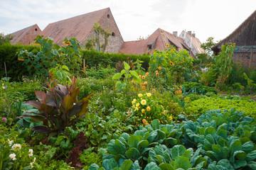 Bauerngarten im Elsass