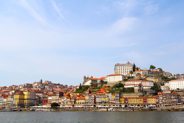 Skyline of the historic city of Porto, Portugal