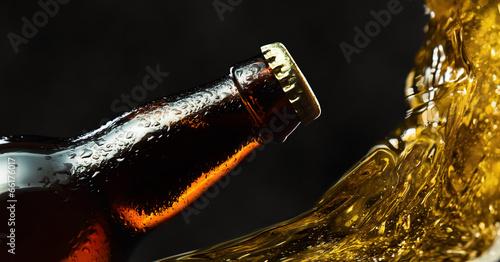 Aluminium Bier frozen beer bottle