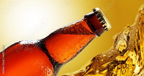Fotobehang Bier beer bottle