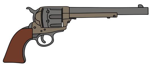 old american revolver