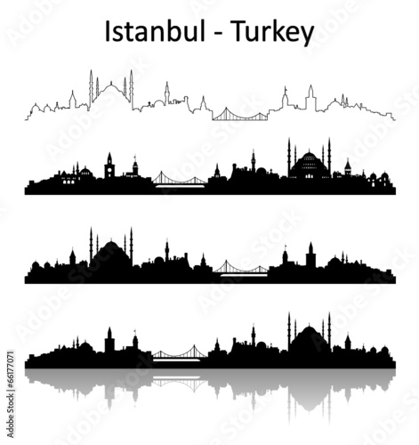Poster Skyline Istanbul