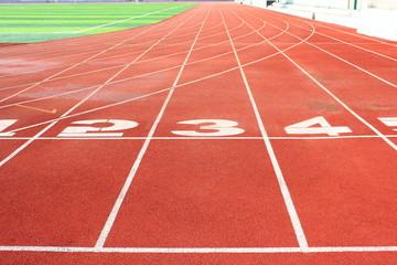 The stadium track