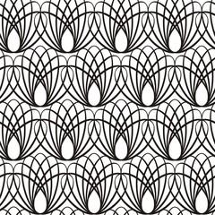 Vector illustration of seamless decorative pattern