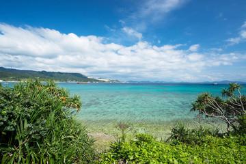 沖縄の海 瀬底島