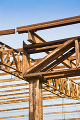 Old steel structure