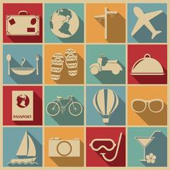 Travel icon.