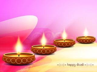 bright colorful background design for diwali