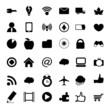 vector black universal web icons