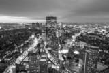 Aerial view of Boston in Massachusetts