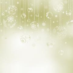 Elegant Christmas Baubles. EPS 8