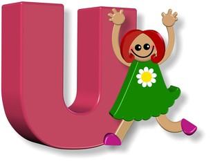 Alphabet U Girl