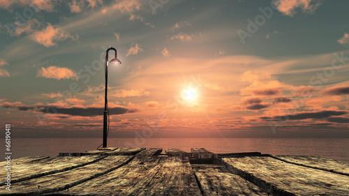 Fototapeta coucher de soleil