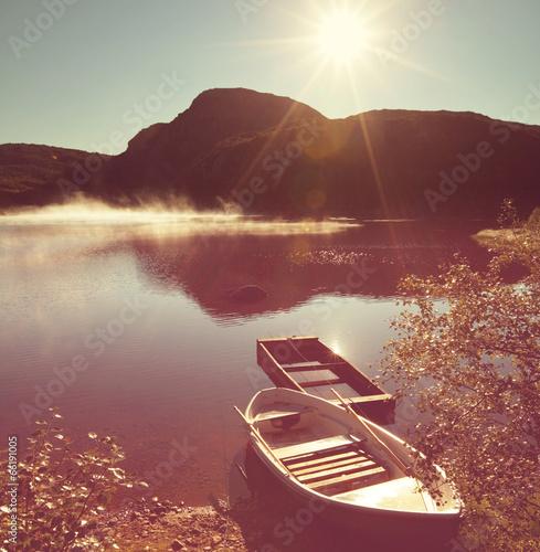Lake in Norway - 66191005