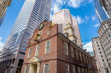 Old State House in Boston, Massachusetts