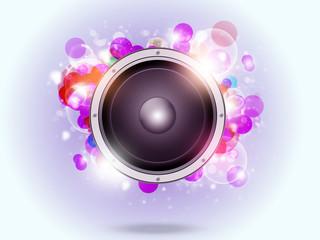 Bright Music Background