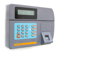 finger scan and card reader unit isolate