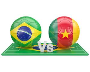 Match du groupe A, coupe du monde 2014