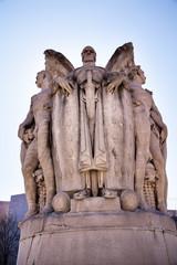 Winged War God Meade Civil War Statue Washington DC