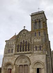 Basilique  of St. Mary Magdalene in Vezelay Abbey. France
