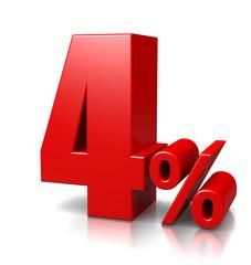 4 Percent