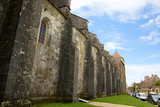 Basilique  of St. Mary Magdalene in Vezelay Abbey. France poster