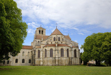 Basilique  of St. Mary Magdalene in Vezelay Abbey. France