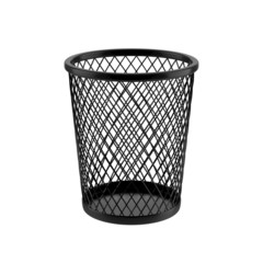 Trash Can Isolated on White Background.