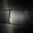 Cracked grunge metal background